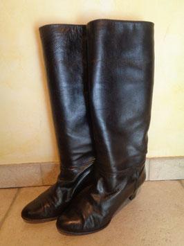 Bottes cuir noires P.40
