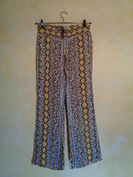 Pantalon à motifs 70's T.36