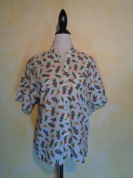 Chemise mexicaine 70's T.42