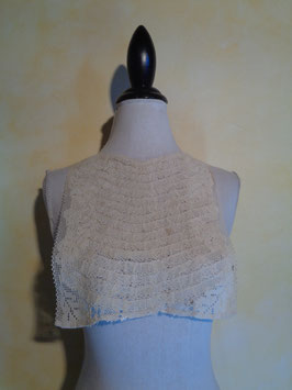 Plastron crochet 1900