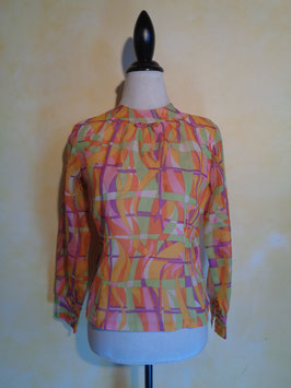 Blouse preppy 60's T.36