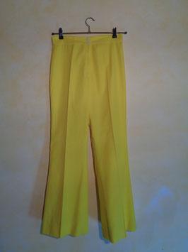 Pantalon jaune 70's T.38