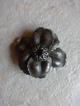 Broche fleur 50's