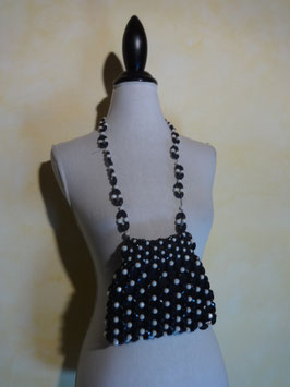 Pochette perles 60's