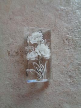 Broche 50's fleurs
