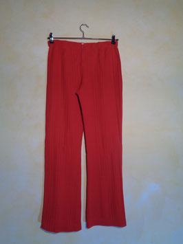 Pantalon rouge 70's T.40