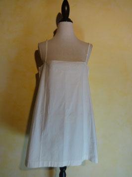 Corsage coton blanc 1900 T.38