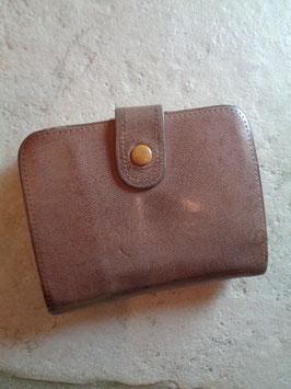 Porte monnaie tout cuir