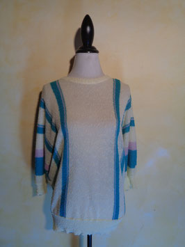 Pull maille 70's T.40