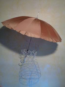 Parapluie marron 60's