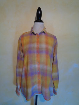 Chemise à carreaux 70's T.40