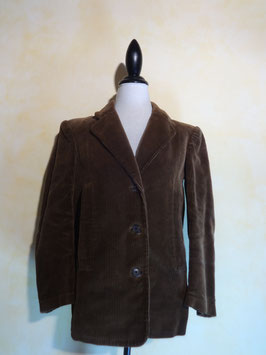 Veste velours marron 70's T.40