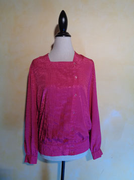 Blouse fuschia 90's T.38