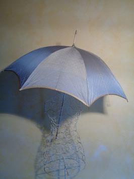 Ombrelle bleue 1900