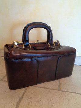 Doctor's bag cuir