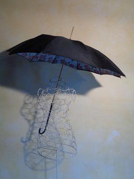 Parapluie noir 50's