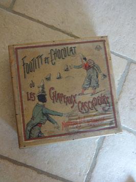 Jeu Footit et chocolat 1900
