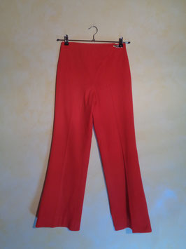 Pantalon jersey rouge 70's T.38