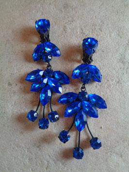 Clips pendants bleus