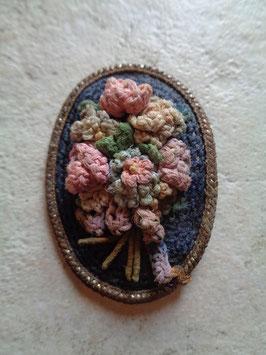 Broche crochet 50's