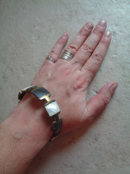 Bracelet bicolore