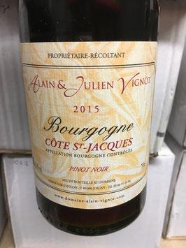 Côte St Jacques (Pinot Noir) - Domaine Vignot