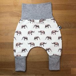 Mitwachshose Elefanten