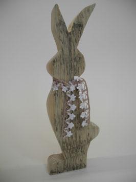 --BUNNY III-- Mittlerer Hase aus Altholz