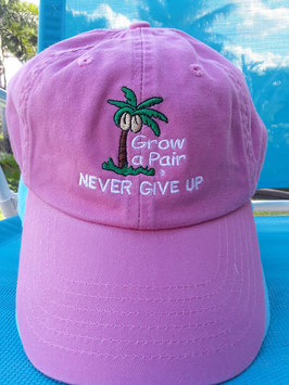 Never Give Up Motivational Hat