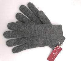 Alpaka Handschuhe in grau gefüttert