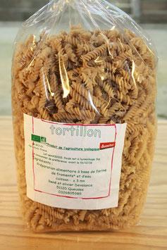 Pâtes : Tortillons à la farine de froment Bio 1kg