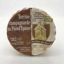 Terrine Campagnarde au Paind'Epices 100g