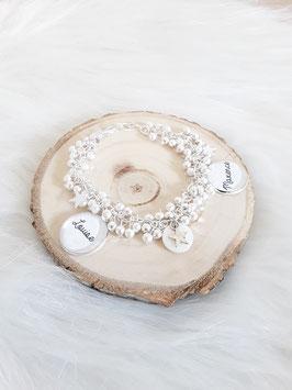 Bracelet perles lisses
