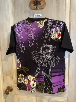 SB EVANGELION 百華流水とアスカ 刺繍 Tシャツ
