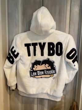 Betty Boop モコモコ ボア フード付ジャケット