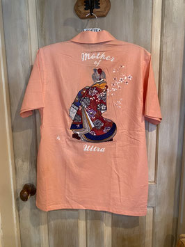 ウルトラの母  刺繍  半袖  シャツ