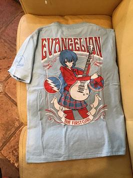 『新世紀エヴァンゲリオン』綾波ロック Tシャツ