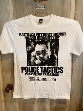 仁義なき戦い 頂上作戦(金子信雄)Tシャツ