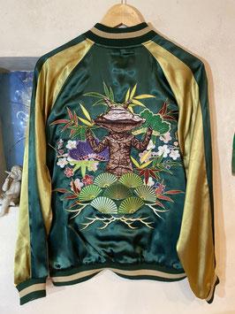 ウルトラQ  カネゴン  刺繍 スカジャン