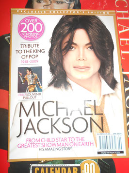 Exclusive collector's edition Michael Jackson mag.