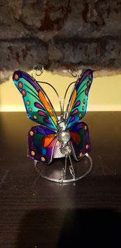 Tiffany Theelichthouder Vlinder 500248
