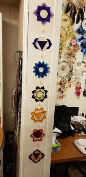 Chakra raam/wand hanger