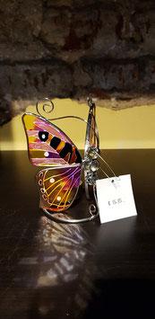 Tiffany Theelichthouder Vlinder 500246