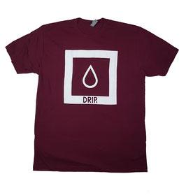 DRIP Skateboards - Logo Shirt maroon
