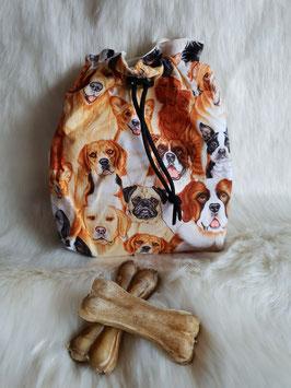Leckerlibeutel Bunte Hunde