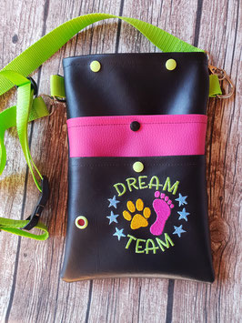 Gassi Tasche Dream Team Gurt Apfelgrün