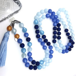 Handy Kette Multicolor Azurblau
