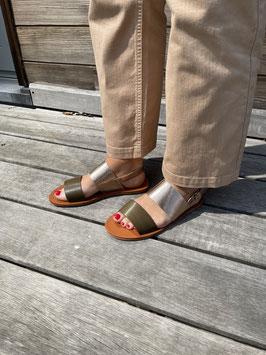 Nouveau - Sandales Kaki