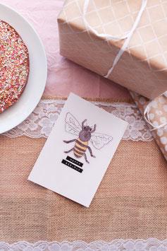 Geburtstag Biene