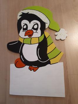 Nr.54 Kleiner Pinguin grün/gelb